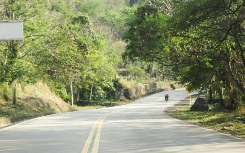 Vía Socorro - San Gil, Departamento de Santander