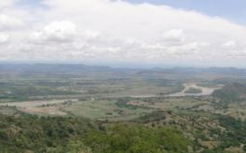 Vista del río Magdalena -  Municipio de Guaduas (Cundinamarca)