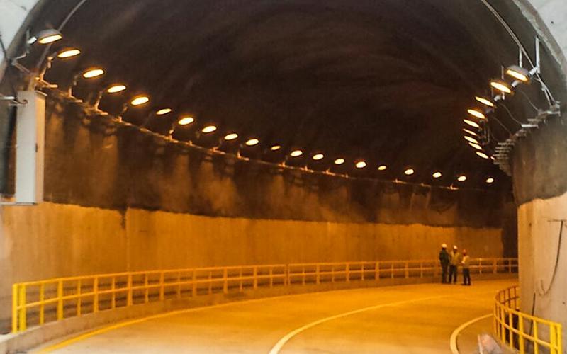 Recuperación total túnel unidireccional de 245 m de longitud