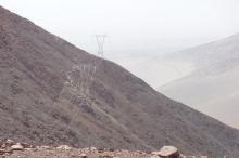 Lomas de Atiquipa, Provincia de Carabelí - Departamento de Arequipa, entre las Subestaciones Poroma (Marcona) y Yarabamba (Socabaya Nueva)
